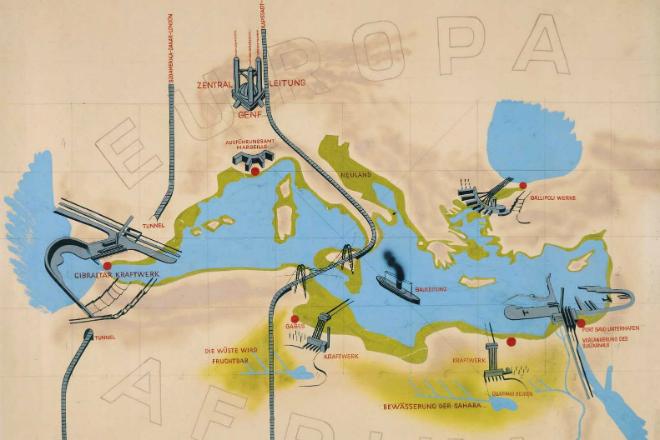 Как в прошлом немцы хотели осушить Средиземное море