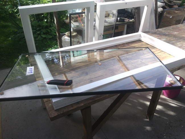 Деревянные окна со стеклопакетами своими руками (20 фото)