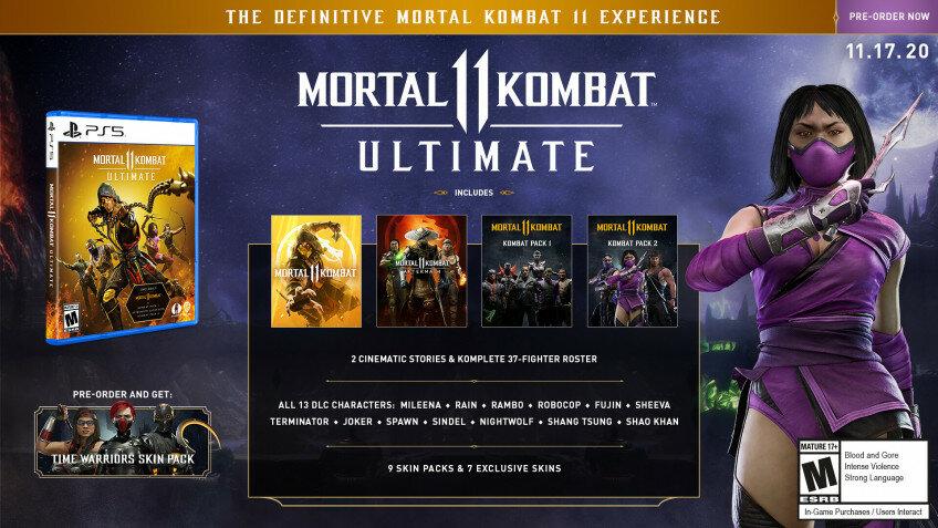 В Mortal Kombat 11 добавят Рэмбо, Милину и Рэйн, а также выпустят ультимативное издание action,adventures,arcade,fantasy,ps,Аркады,Игры,Приключения,Фентези