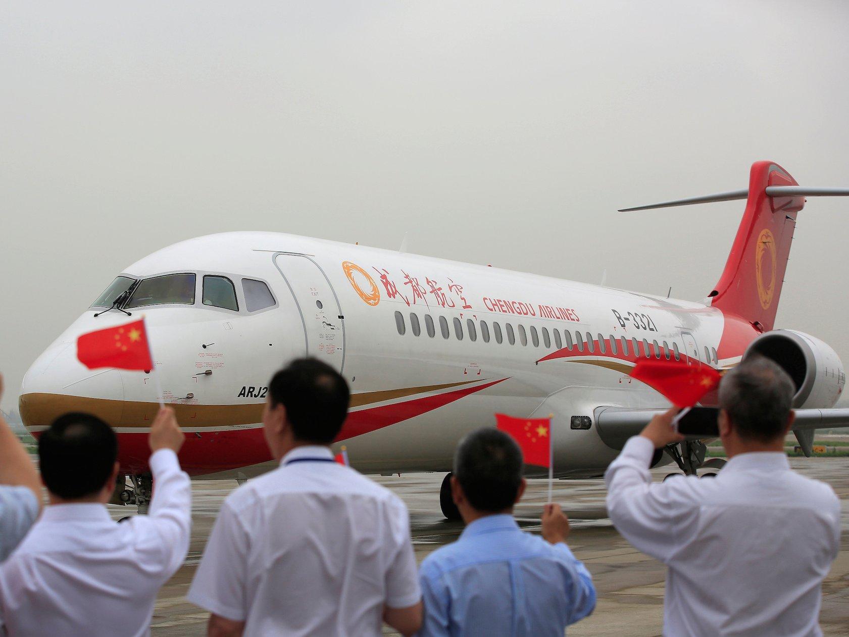 homegrown large passenger plane - HD1681×1261