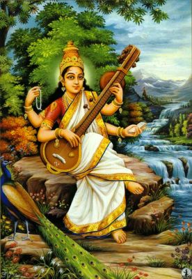 Сновидения -3  Богиня Сарасвати