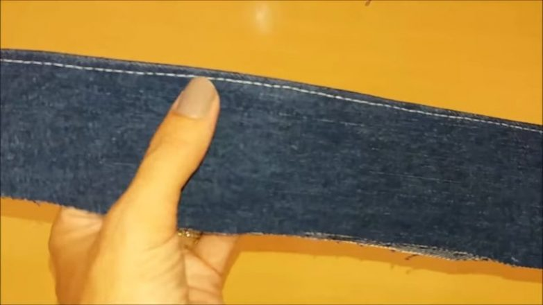 Летние тапочки из старых джинсов своими руками обувь