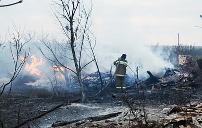 Природный пожар в Волгоградской области локализован