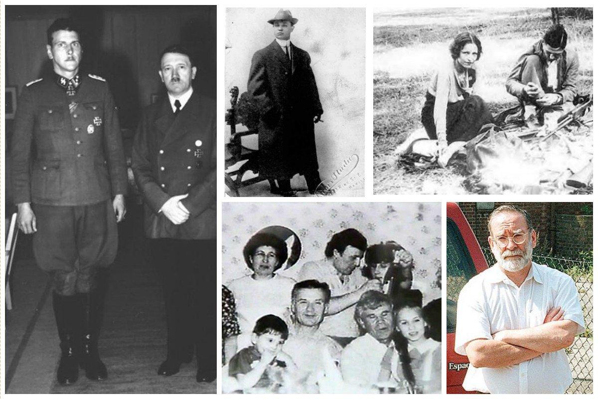 Редкие фото известных преступников