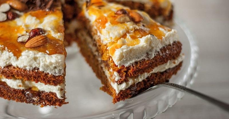 Рецепт торта из бисквитных коржей