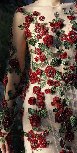 23 платья с дизайнерской вышивкой и деталями вышивка,женские хобби,платье,рукоделие,своими руками