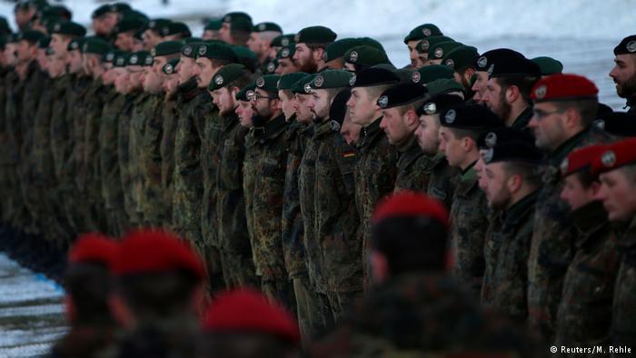 СМИ раскритиковали размер немецкой армии