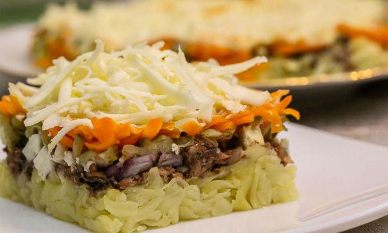 Салат со шпротами: все идеально сочетается
