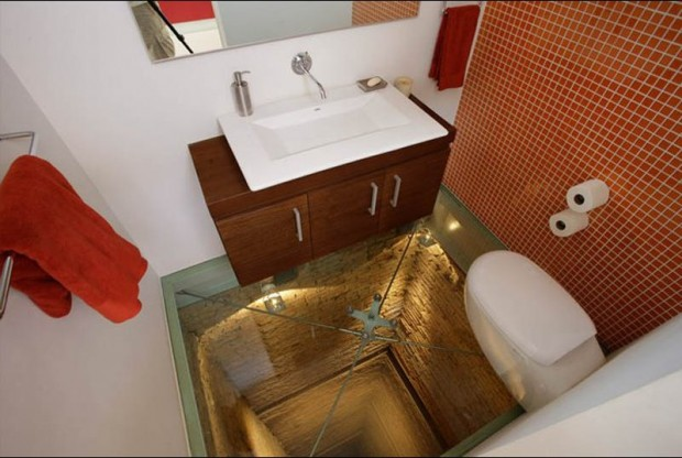 Самая пугающая ванная комната в мире