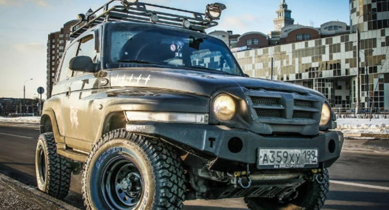 В Сети рассказали о перспективном российском вездеходе TagAZ Tager, ставшим малоизвестным Автомобили