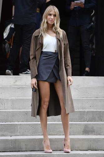 Образы звезд Paris Fashion W…