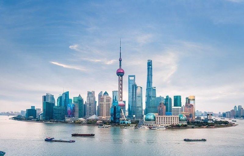 Вид на Шанхай с реки Хуанпу виды, города, китай, красота, необыкновенно, пейзажи, удивительно, фото