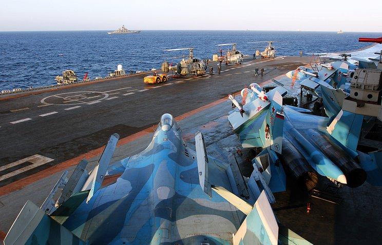 Авианосец российского флота