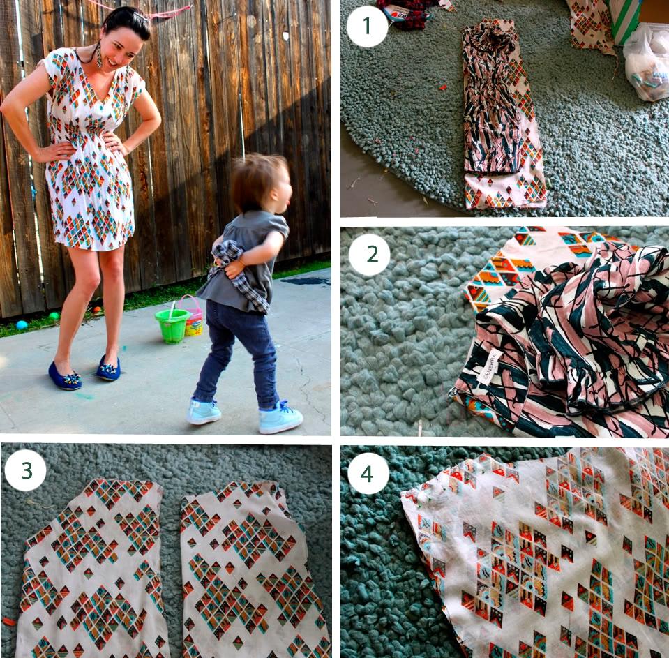 Выкройки платьев для начинающих от А 35