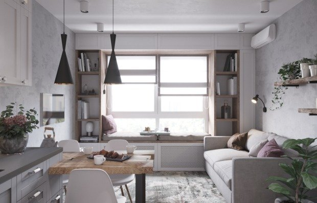 Где хранить вещи в маленькой квартире: советы дизайнера