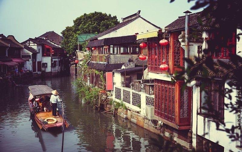 Старые рейоны Шанхая виды, города, китай, красота, необыкновенно, пейзажи, удивительно, фото
