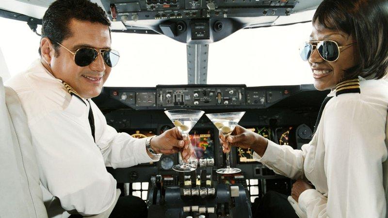 Из-за пьяного пилота вГерма…