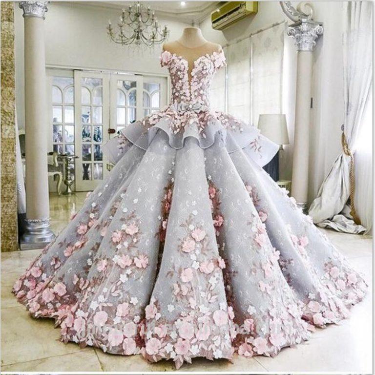 Это фантастическое свадебное платье скрывает секрет. В это невозможно поверить!