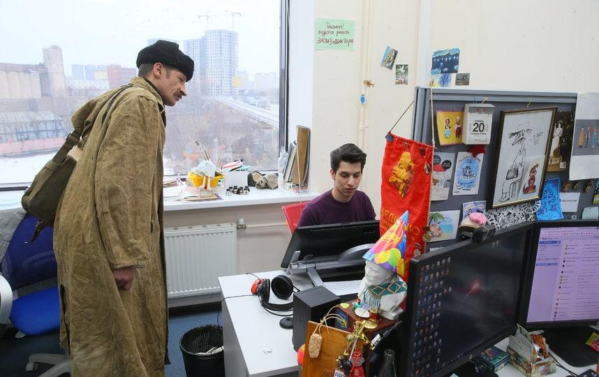 В Санкт-Петербурге нашли двойника почтальона Печкина