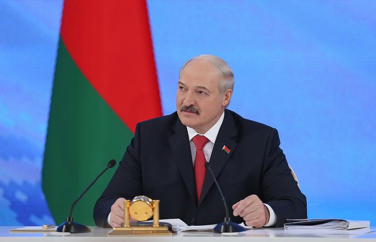 Лукашенко рассказал о положении Белоруссии и об отношениях с Россией