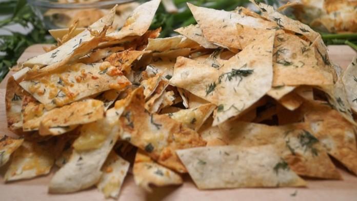 Хрустящие чипсы за 3 минуты без возни! два вкуса!