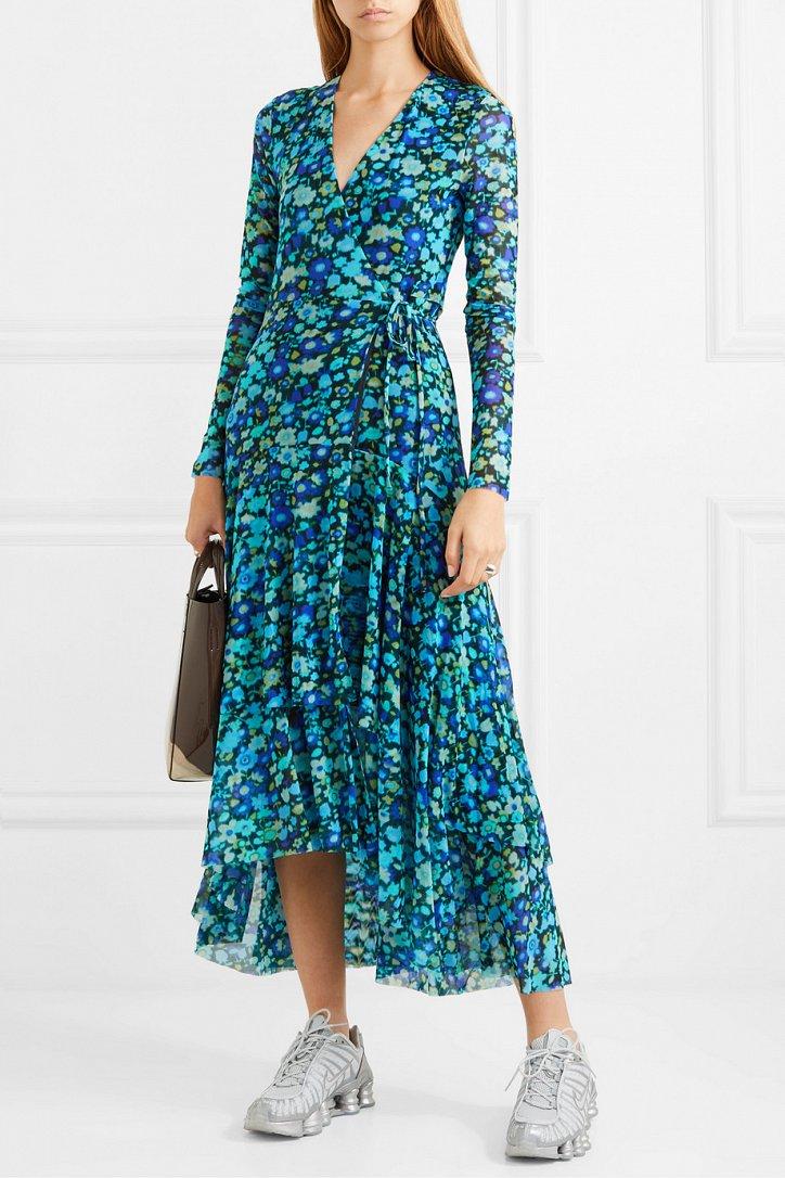 Платья с цветочным принтом - наш ответ серым осенним будням фото №5