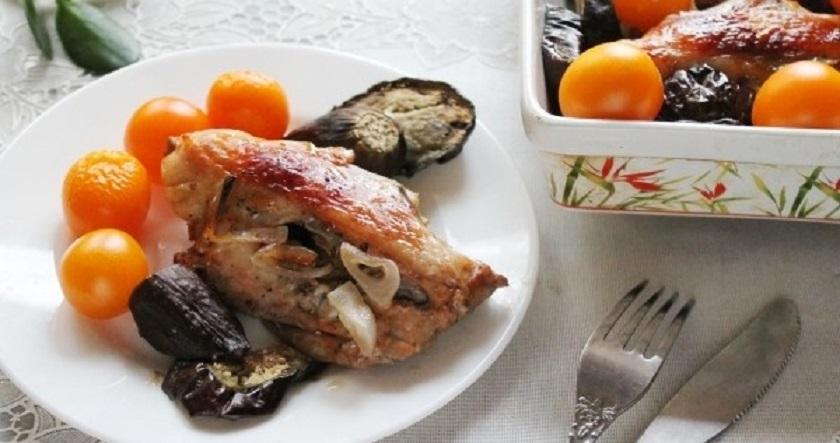 Куриные спинки, запеченные в духовке: пальчики оближешь