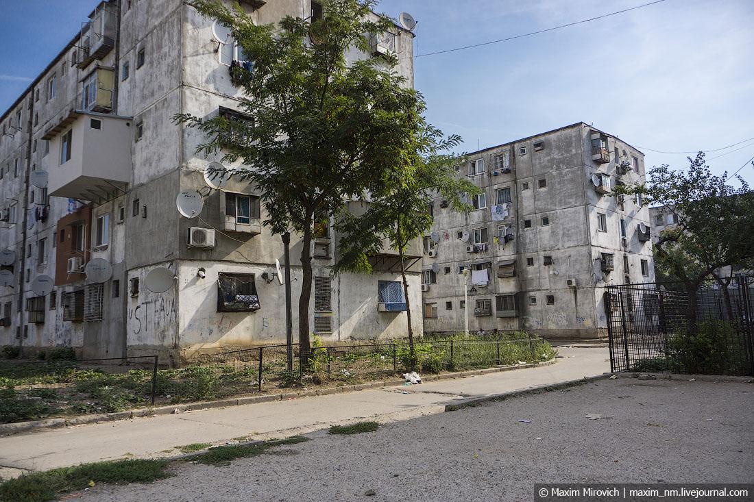 Цыганские гетто Бухареста