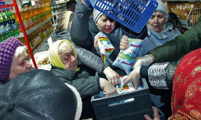 В Екатеринбурге магазин оштр…