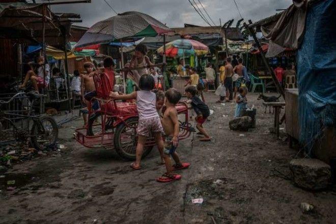 Вот так развлекаются дети на Филиппинах Автор James Whitlow Delano