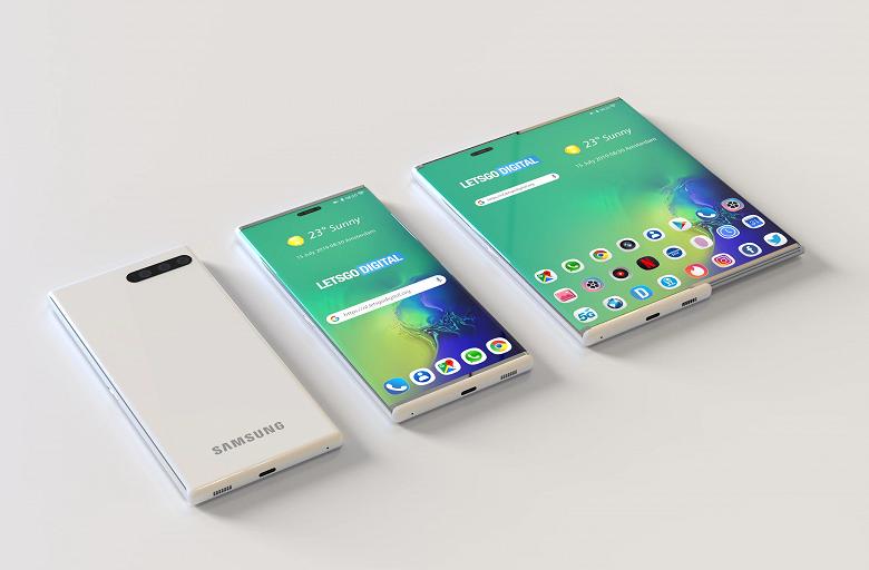 Samsung Galaxy S11 может получить раздвижной экран и необычную камеру новости,смартфон,статья