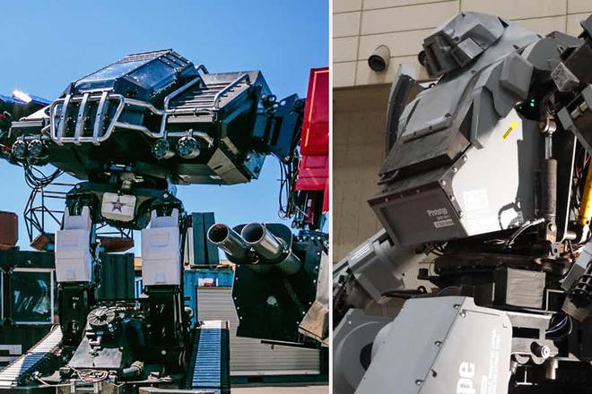 Япония и США построли гигантских боевых роботов для смертельной схватки