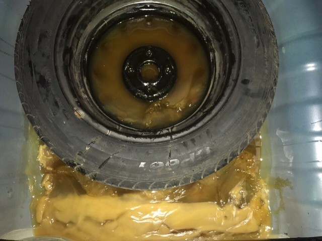 40 кг мёда в багажнике
