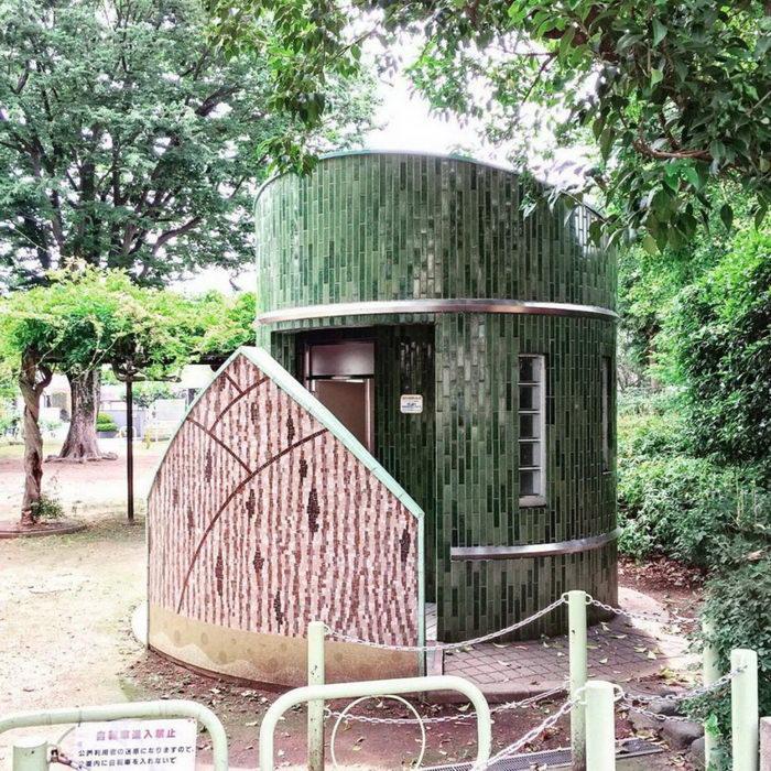 Японские туалеты в фотографиях H.Nakamura города