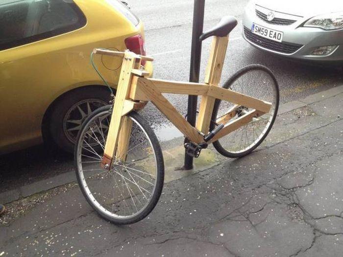 Картинка велосипеда прикольная, прикольные тупости