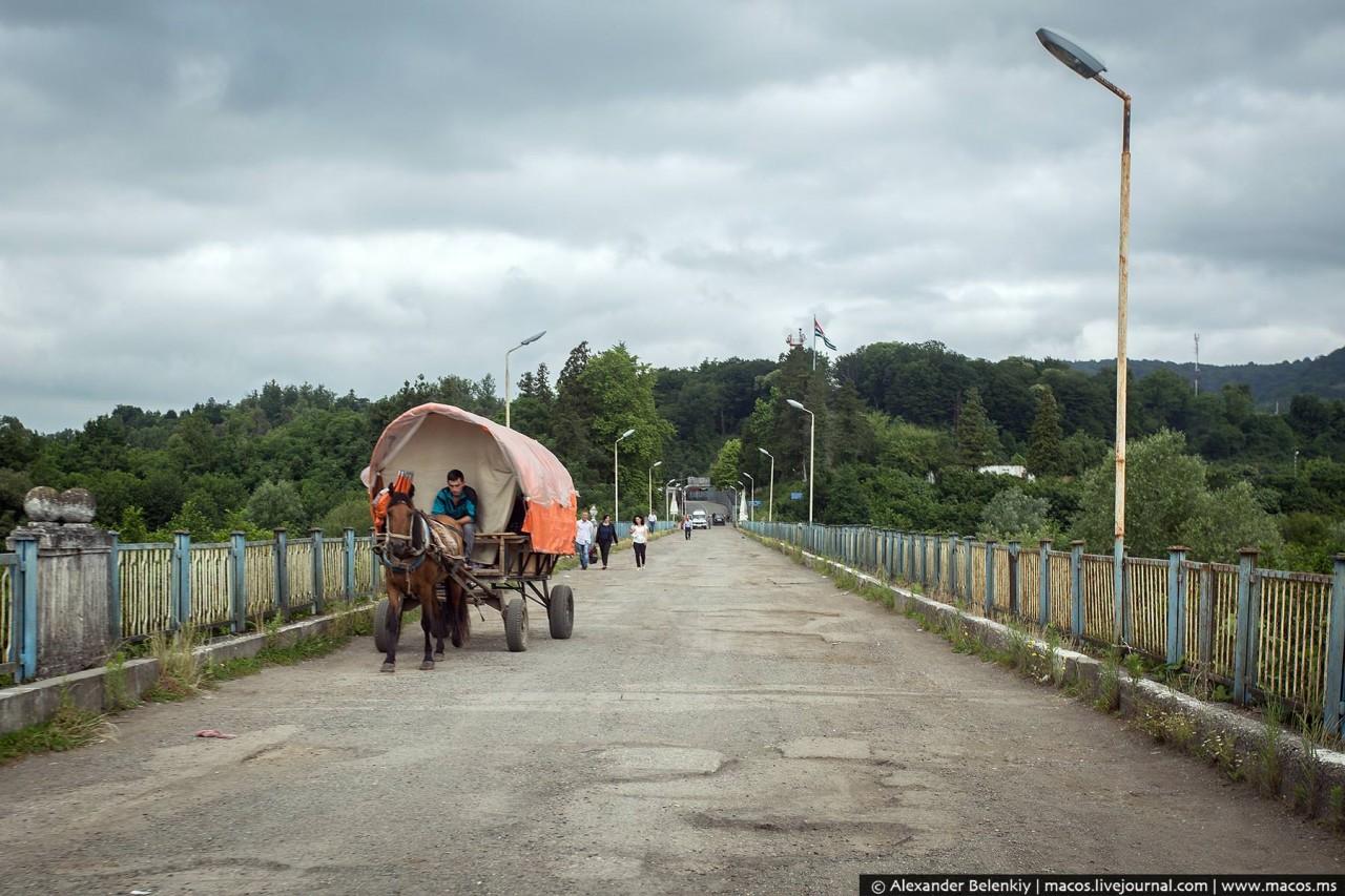 Экстремальная поездка из Грузии через оккупированную Абхазию