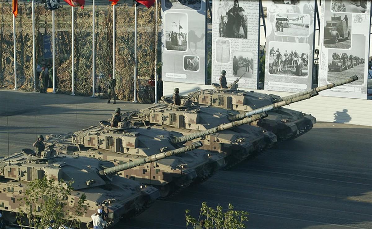 Иорданская армия снимет с вооружения британские танки Challenger 1