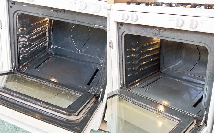 Самое эффективное средство для чистки духовки домашний очаг...