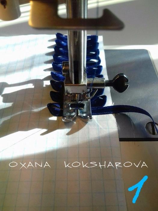 Оригинальная и простая отделка из тесьмы от мастерицы: мастер-класс женские хобби