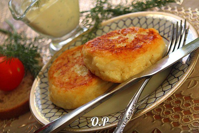 Картофельные котлеты с сыром — пальчики оближешь