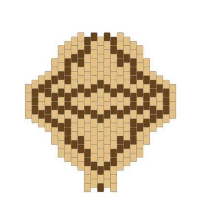 Как плести жгут из бисера. Схемы плетения и пошаговый мастер-класс (11) (400x435, 65Kb)
