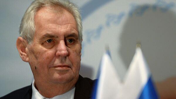 """Президент Чехии обвинил главу минздрава в нежелании закупать """"Спутник V"""" Лента новостей"""