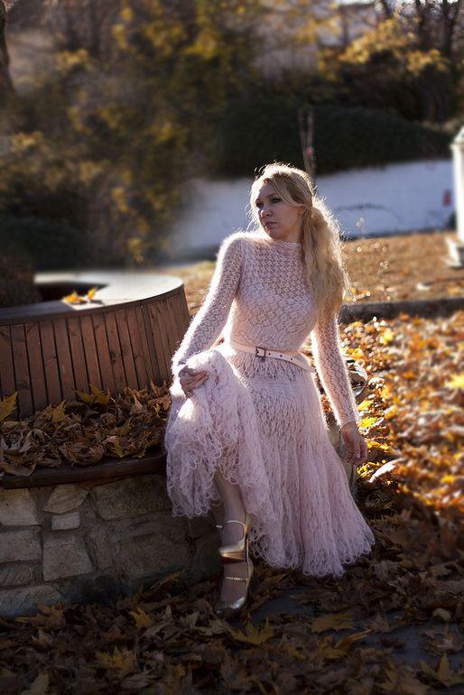 Платье из мохера фото есть