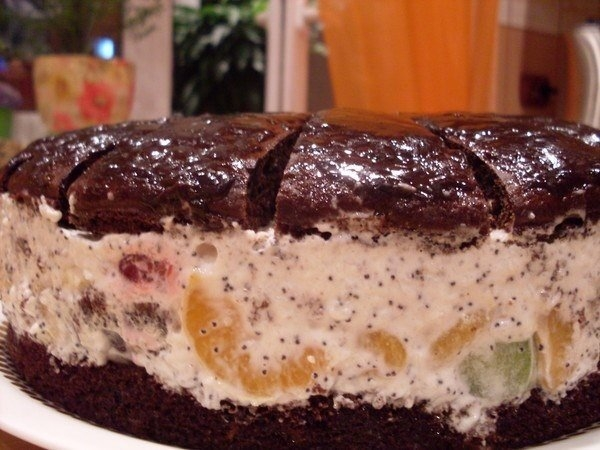ДЕСЕРТНЫЙ ВИХРЬ. Торт Африканская ромашка