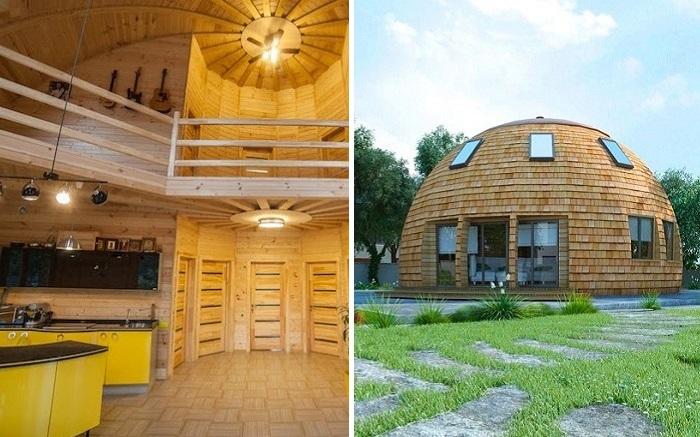 Сферический дом в Подмосковье, который обошелся дешевле, чем «однушка» в столице