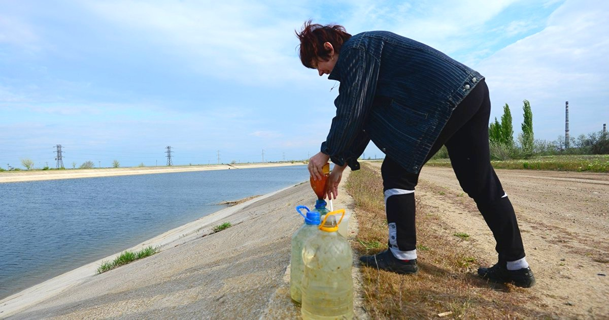 На Украине озвучили требования к России для возобновления поставок воды в Крым Крым,Политика,Россия,Северо-Крымский канал,Украина,Экономика,Украина