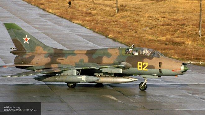 Стало известно о возможном катапультировании пилота сбитого боевиками Су-22 ВВС Сирии в Дамаске