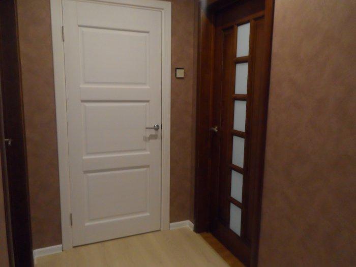 Наш длинный коридор. история ремонта в фото.