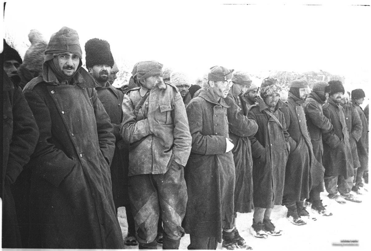 фото пленных немцев зимой менее, люди