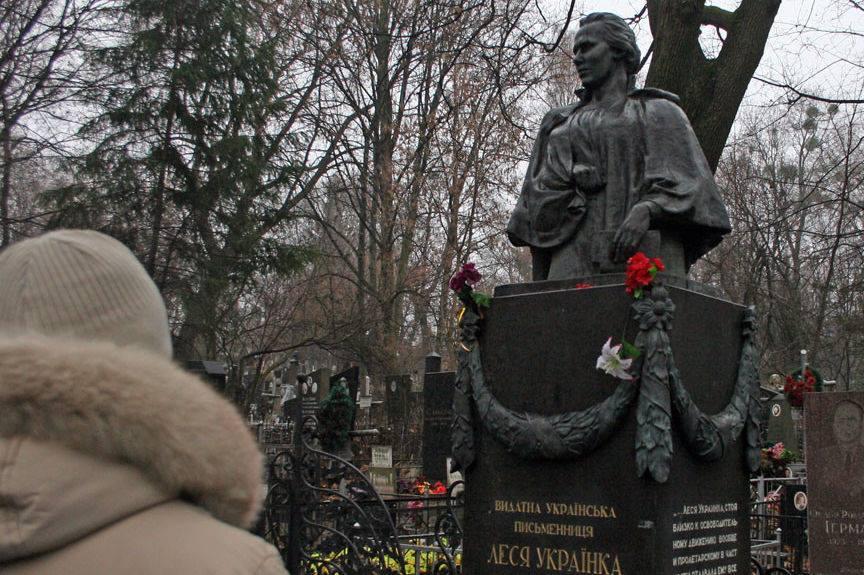 В Киеве осквернили могилу Ле…
